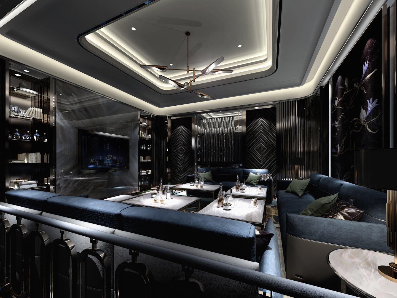 北京金碧国际夜总会人多又好玩室内装修非常好